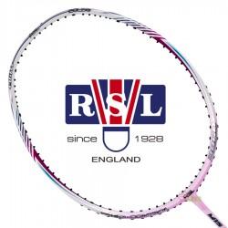 【RSL】M15-3860PK亮粉紅塗裝4U破風框女生專屬全能羽球拍