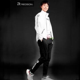 【REDSON】RD-SL401彈性棉質縮口長褲