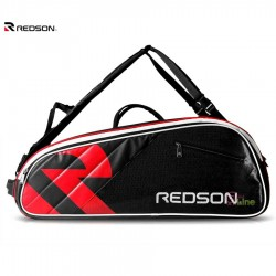 【REDSON】超質感皮料防刮防潑水大容量羽網雙肩背袋