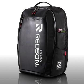 【REDSON】RH-SR110皮料質感透氣後襯墊雙肩後背袋