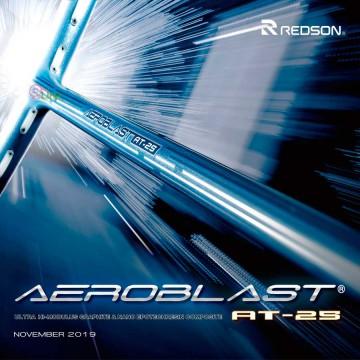 【REDSON】AT-25亮藍 低空阻極致揮速攻擊型羽球拍