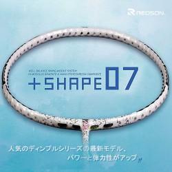 【REDSON】SHAPE-07白 迅速穩定強大攻擊力細中管羽球拍