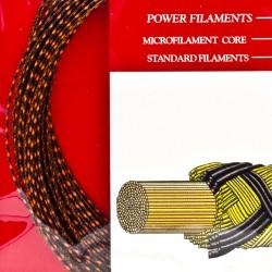 【ASHAWAY】Power GUT66細線傳奇快彈準黑紅雙色羽拍線(0.66mm)