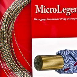 【ASHAWAY】Micro Legend XL 5000條複絲線強韌快堅固三色羽拍線(0.73mm)