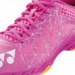 【YONEX】SHBA2 LADIES粉紅 秋冬女款極佳避震步伐輕盈羽球鞋