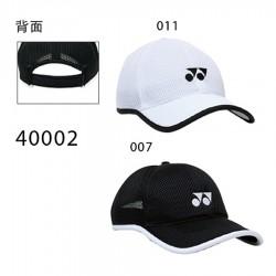 【YONEX】40002品牌透氣運動棒球帽(二色)