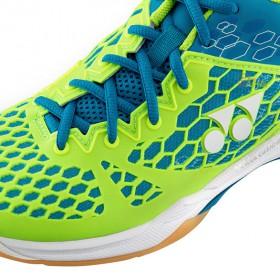 【YONEX】SHB03EX-BL綠藍新一代設計鞋面提升穩定性和包覆感羽球鞋