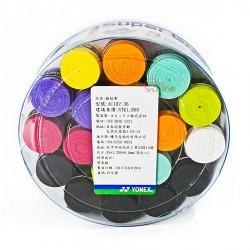 【YONEX】AC102-36EX 多色混搭36條桶裝握把皮0.6mm(薄)