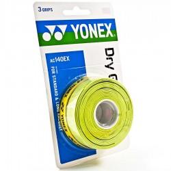 【YONEX】AC140EX三條裝極度乾燥握把皮(薄0.65mm)