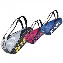 【YONEX】BAG16018TR灰防熱保護6支裝雙肩羽拍包