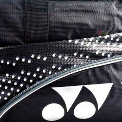【YONEX】BAG22018TR黑附小鞋袋矩形側背手提拍包