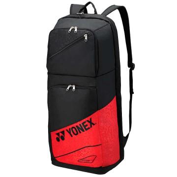 【YONEX】BAG4922EX紅雙肩後背專屬置鞋層長型羽拍包
