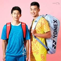 【YONEX】BAG9826LX純藍鋁鉑金屬隔熱保護層6支裝雙肩羽拍包