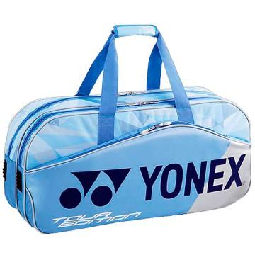 【YONEX】BAG9831WLX純藍矩形手提側背羽拍包
