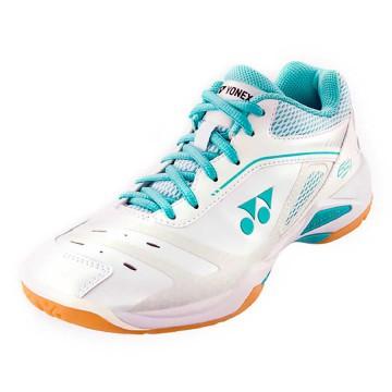 【YONEX】POWER CUSHION 65X白薄荷綠羽球鞋(女款)