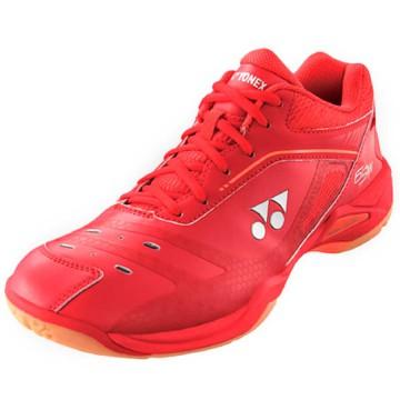 【YONEX】POWER CUSHION 65X寬楦紅全尺碼羽球鞋