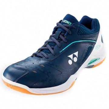 【YONEX】POWER CUSHION 65Z寬楦藍白比賽級羽球鞋(全尺碼)