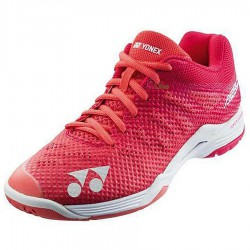 【YONEX】SHBA3LEX玫紅透氣升級輕量耐磨鞋面新款羽球鞋(女款)