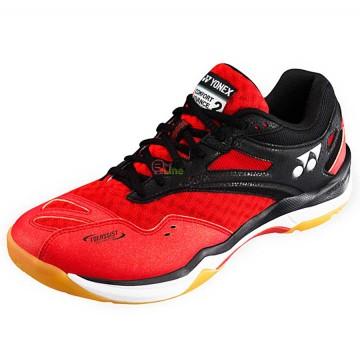 【YONEX】SHBCFA2EX紅低筒輕量絕佳減震羽球鞋