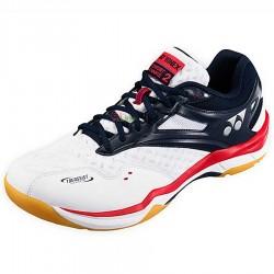 【YONEX】SHBCFA2EX白低筒輕量絕佳減震羽球鞋