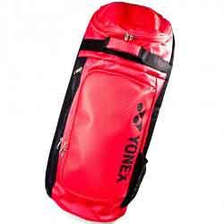 【YONEX】BAG8822EX212紅黑長型雙肩後背羽拍包