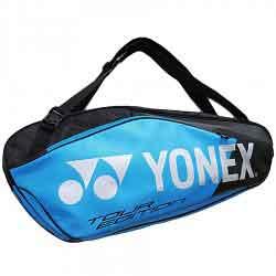 【YONEX】BAG9826BEX黑藍6支裝雙肩羽拍包
