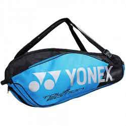 【YONEX】BAG9829EX黑藍黑粉9支裝雙肩羽拍包