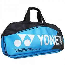 【YONEX】BAG9831WEX黑藍矩形手提側背拍包