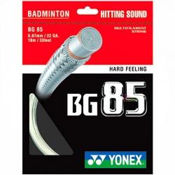 【YONEX】BG85清脆擊球聲高彈性手感清晰羽拍線(0.67mm)