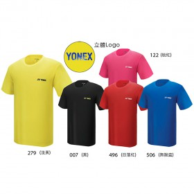 【YONEX】11528TR 親子款吸濕排汗抗菌圓領T(五色)