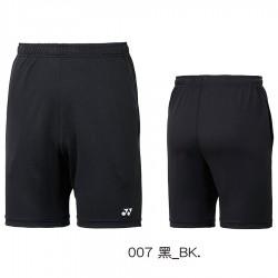 【YONEX】12019TR黑 中性款吸濕排汗針織短褲