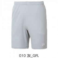 【YONEX】12019TR灰 中性款吸濕排汗針織短褲