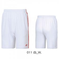 【YONEX】12029TR白 中性款吸濕排汗針織短褲