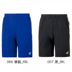 【YONEX】12029TR寶藍/黑 中性款吸濕排汗針織短褲