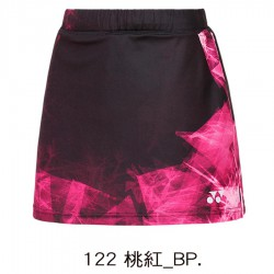 【YONEX】22539TR-122桃紅 專業羽球比賽女款褲裙