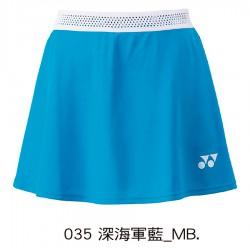 【YONEX】26053EX-035深海軍藍 中華台北國家隊服女款褲裙