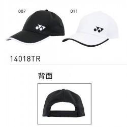 【YONEX】14018TR-007黑/011白 品牌透氣運動有型潮帽