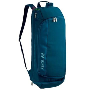 【YONEX】BA82014EX孔雀藍 雙肩後背長型羽拍包