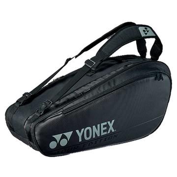 【YONEX】BA92026EX黑 防熱保護6支裝雙肩羽拍包