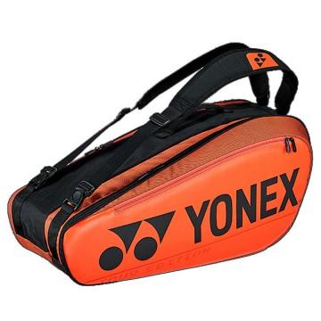 【YONEX】BA92026EX銅橘 防熱保護6支裝雙肩羽拍包