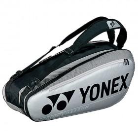 【YONEX】BA92026EX銀 防熱保護6支裝雙肩羽拍包