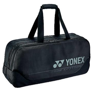 【YONEX】BA92031WEX黑 矩型雙夾層手提側背拍包