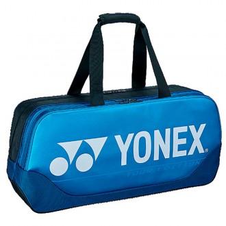 【YONEX】BA92031WEX深藍 矩型雙夾層手提側背拍包