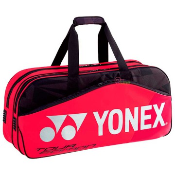 【YONEX】BAG9831WEX火焰紅 矩形手提側背拍包