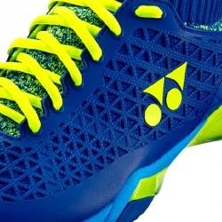 【YONEX】POWER CUSHION ELSZWIDE藍黃 寬楦選手級羽球鞋