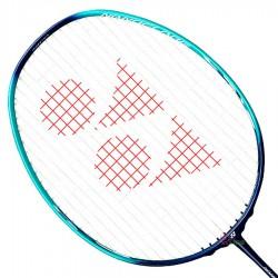 【YONEX】NANOFLARE JR兒童4U高彈性碳纖羽球穿線拍