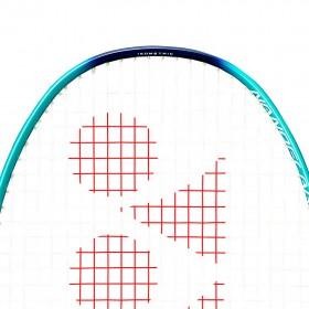 【YONEX】NANOFLARE JR兒童4U高彈性碳纖羽球穿線拍(小二以下使用)