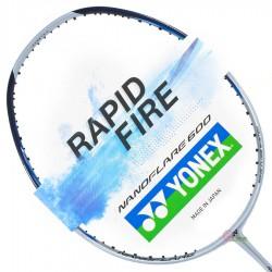 【YONEX】NANOFLARE600灰 穩定高彈攻擊型日製羽球拍