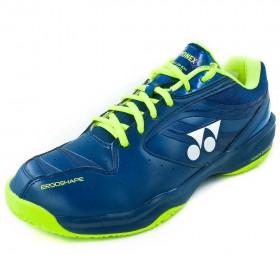 【YONEX】POWER CUSHION 100DR丈青藍/黃 戶外場地羽球鞋(男女款)