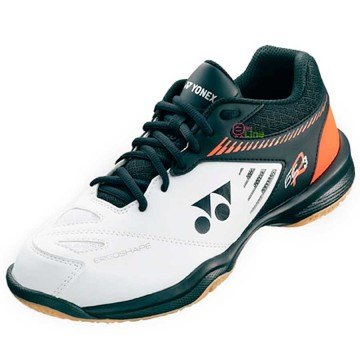 【YONEX】POWER CUSHION 65 R3白橘 羽球鞋